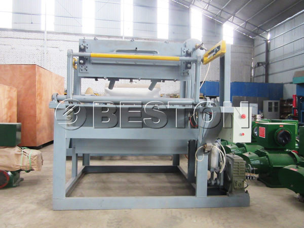 1000pcs Apple Fruit Tray Making Machine