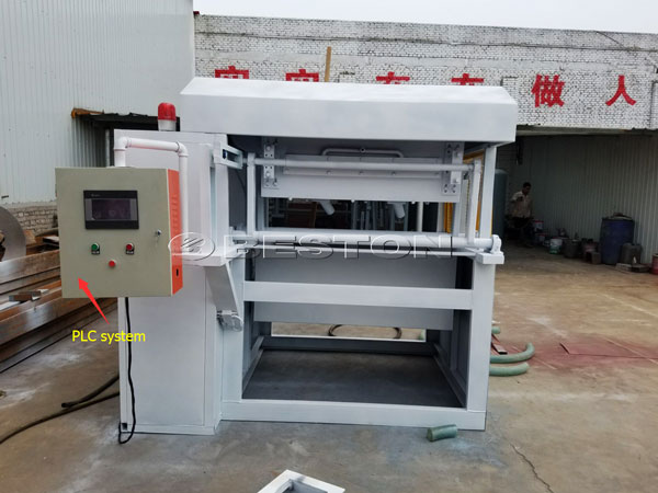 1000pcs Manual Egg Tray Machine With PLC System
