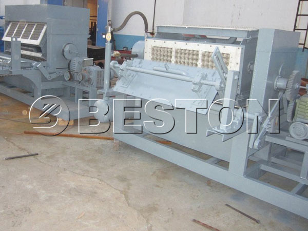 2000pcs Egg Carton Machine