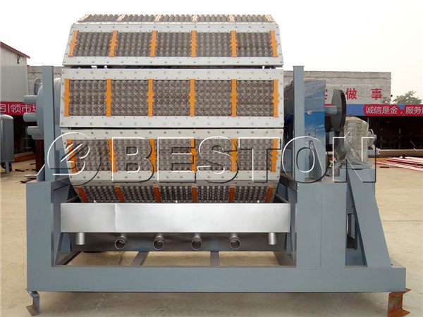 5000-6000pcs Paper Automatic Egg Tray Machine