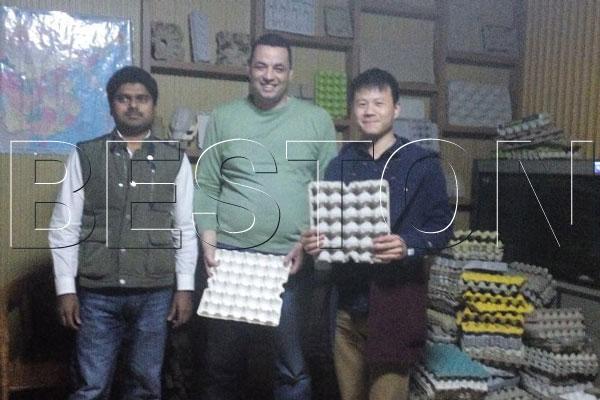 Automatic Egg Tray Machine | Output: 5000-7500pcs/h Egg Trays