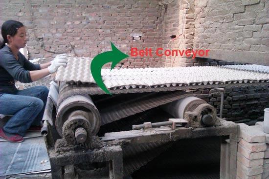 Belt Converyor Brick Drying Line