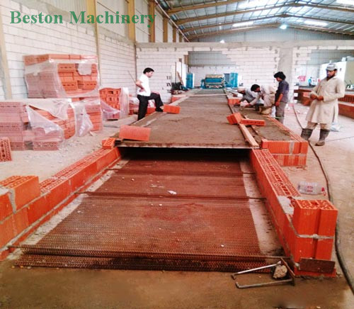 Build the Brick Drying Line