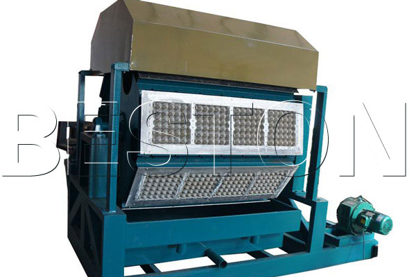 Semi automatic Paper Egg Tray Machine