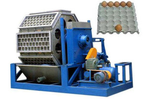 paper egg tray making machine