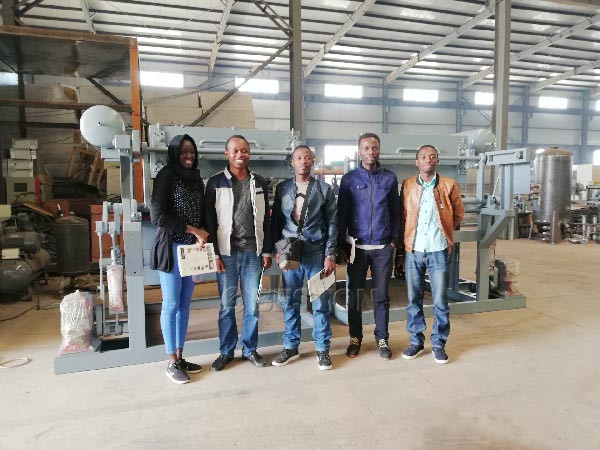 Mali Customers Visited Factory