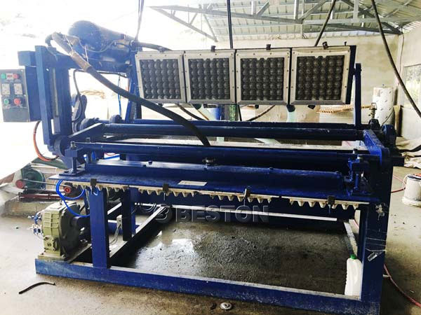 1500pcs Egg Tray Making Machine For Sale
