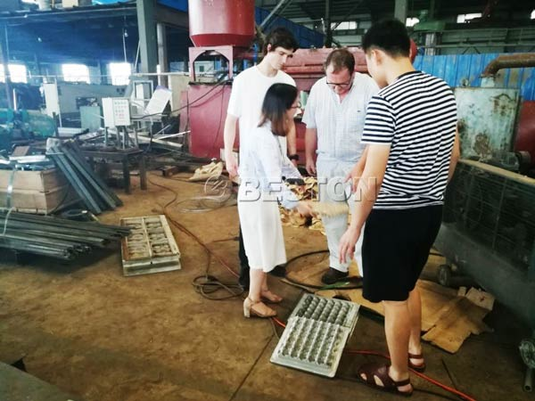 Chile Visited Beston Factory