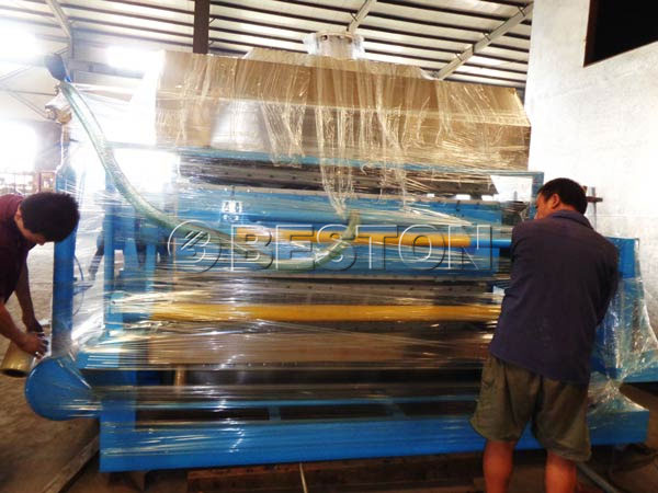 Egg Tray Making Machine to Dominica