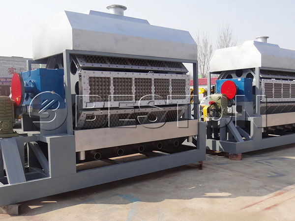5000-7000pcs Egg Tray Making Machine