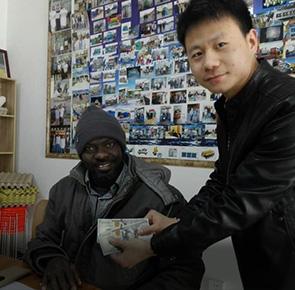Senegal Customer Paid the Deposit
