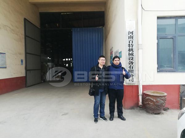 Argentina Customer In Beston Factory