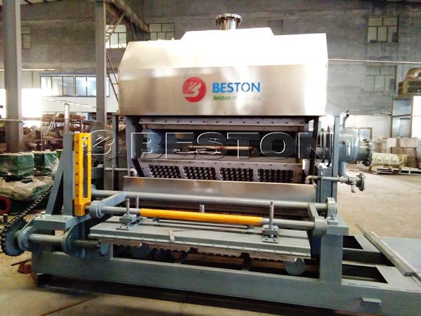 Egg Tray Making Machine Delivered To Hungary