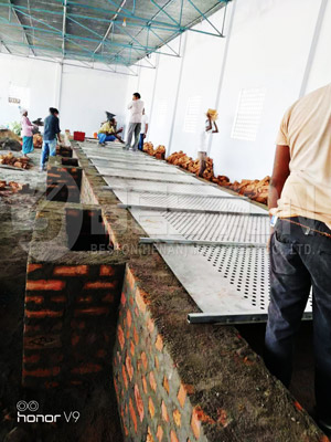 Egg Tray Drying Line In India