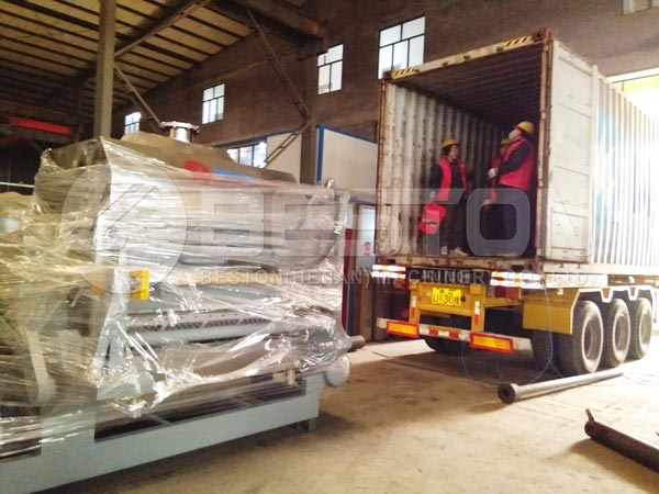 Egg Tray Machine To Indonesia