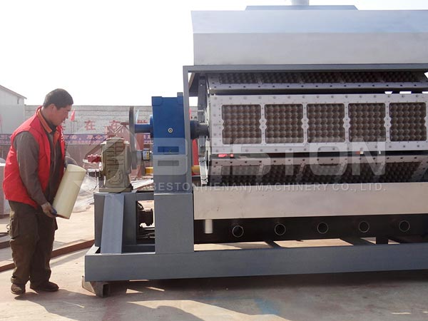 Egg Tray Manufacturing Machine to Egypt